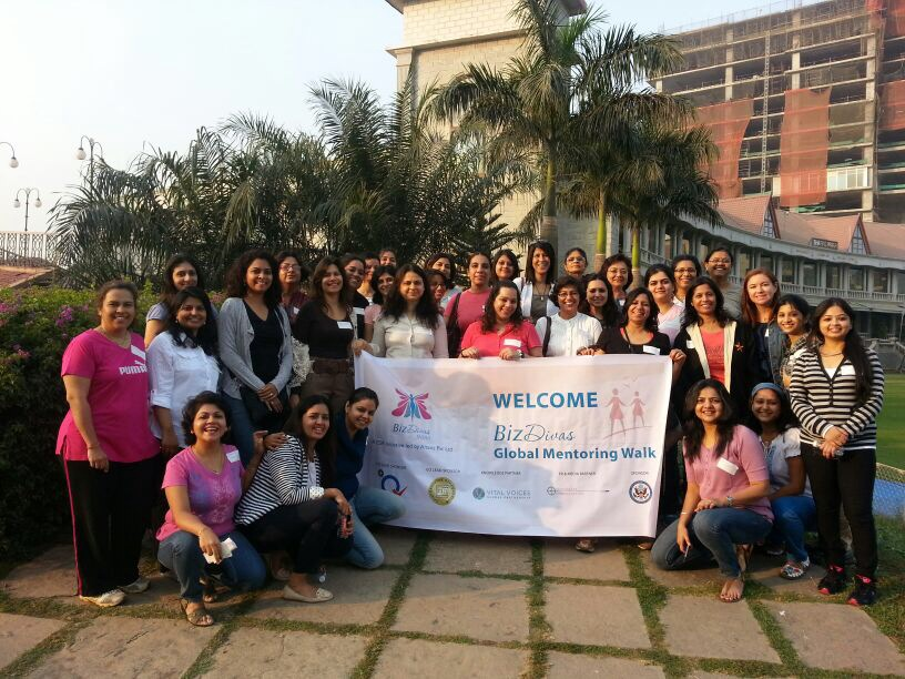 Biz Divas Global Mentoring Walk – Mumbai