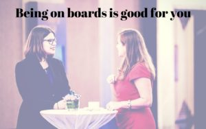 being on board is good