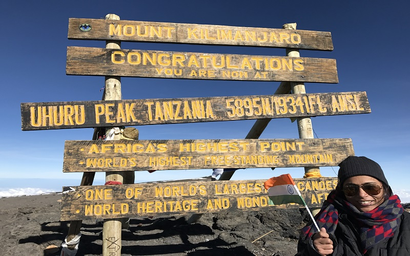 My tryst with Kilimanjaro