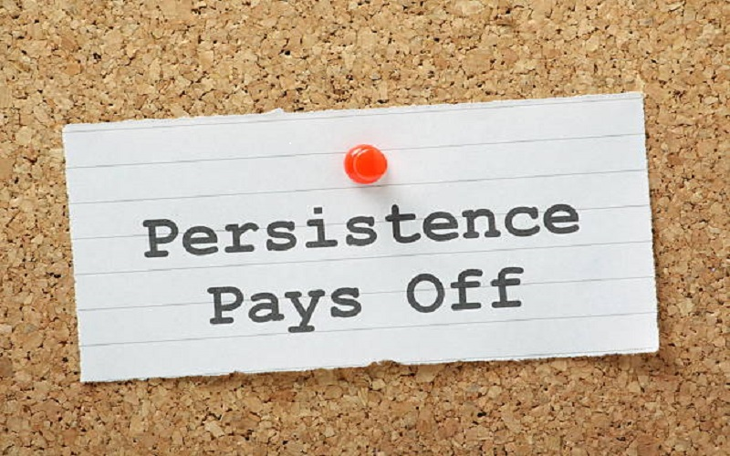 Vision to Reality…Persistence leads to Accomplishment
