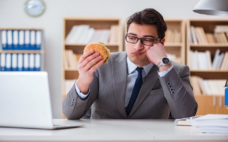 How to stop 'stress eating' at work