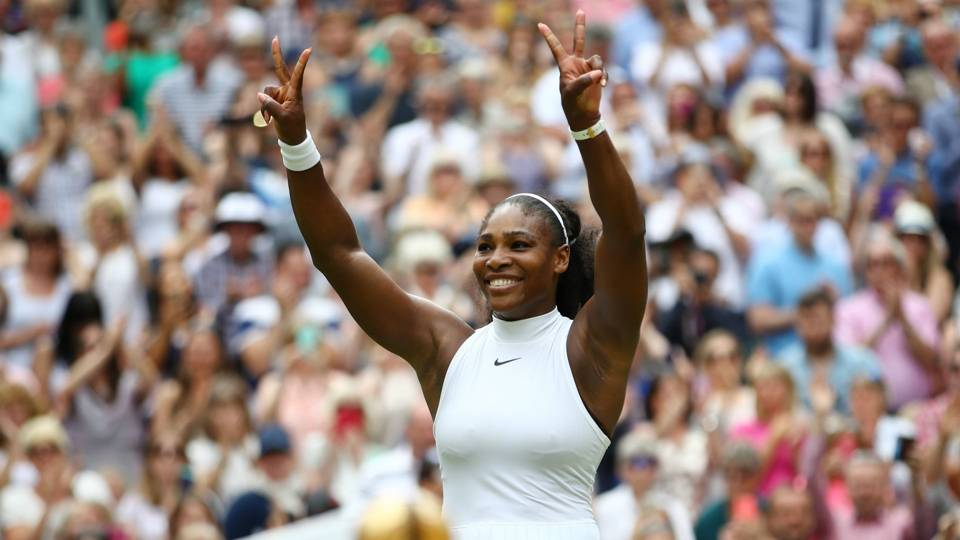Success in Competitive Chaos : The Tennis Champ/ Serena Williams
