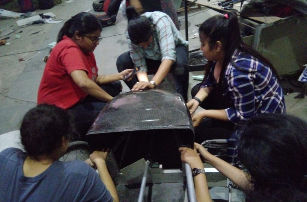 Meet the world's first all women SuperMileage team.